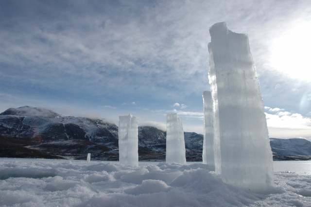 """Icehenge"", Kapisillit, West Greenland, March 2010"
