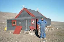 Ivar Ytreland at Kap Herschell, August 2002