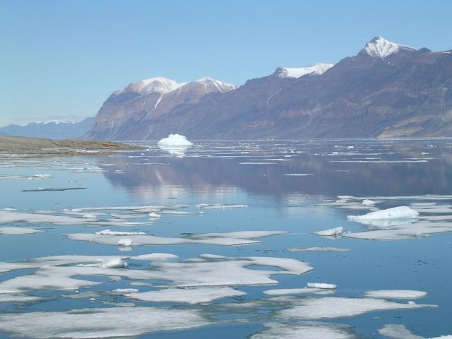 Ardencaple Fjord, juli 2004