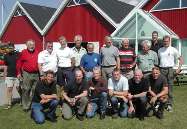 Nanok expedition meeting. Frederiksværk 2002