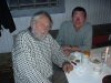 While restoring Myggbukta in 2002. Ivar Ytreland and Peter.