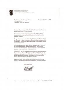 Landsstyrets støtteerklæring 1997